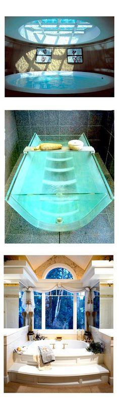 Cool bath tubs