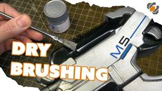 HOW TO - Drybrush Painting & Weathering for Props & Cosplay - TUTORIAL