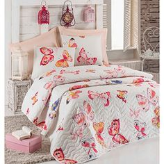 Printed Quilted Coverlet / Bedspread 3 Pcs Queen Butterfl... https://www.amazon.com/dp/B01NAVCNCF/ref=cm_sw_r_pi_dp_x_m-IKyb3HA3J71