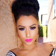 Amrezy make-up perfection Flawless Makeup, Gorgeous Makeup, Pretty Makeup, Love Makeup, Makeup Tips, Beauty Makeup, Makeup Looks, Hair Beauty, Makeup Ideas