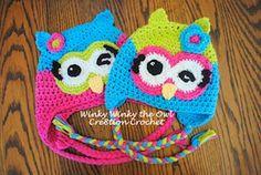 Winky Winky the Owl - Free by Lorene Haythorn Eppolite of Cre8tion Crochet  Owls Part 2 - Animal Crochet Pattern Round Up - Rebeckah's Treasures