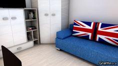 #room #design #interior #interiordesign #bedroom #art #wizualizacjawnętrz #graphic #greatbritain #pokój #homedesign #dom #mieszkanie #projektowanie