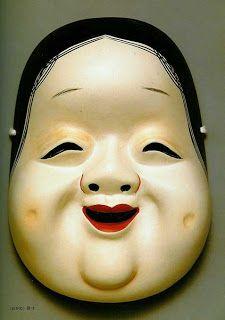 Okame: Máscara Kagura