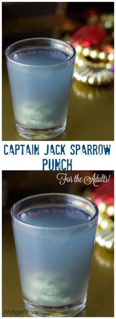 Captain Jack Sparrow (Alcoholic) Punch. Combining blue curacao, pineapple orange juice, coconut rum and a few other things to make one amazing Pirate drink!