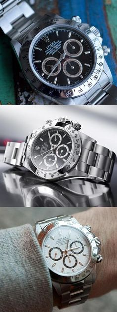 Popular Replica Watches Guide - Rolex Daytona Sport Watches, Cool Watches, Watches For Men, Dream Watches, Wrist Watches, Luxury Watches, Rolex Watches, Oakley, Popular Watches