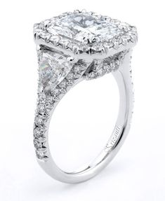 Diamond Rings : Krizanti Jewelry #diamonds #jewelry #platinum