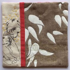 In My Portfolio: Nine Tiny Screen-Printed Art Quilts | Ruth de Vos: Textile Art