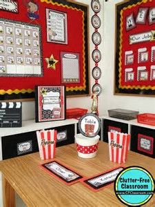 Resultado de imagen de Hollywood Classroom Decorations