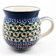 polish-pottery-ladies-mug-#1543
