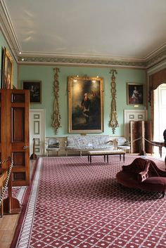 Inveraray Castle Saloon, Inveraray, Argyll, Scotland, UK