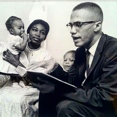 #relationshipgoals Malcolm, Betty, and their daughters.