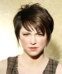 short hair  front view A (Pinned from) I like this and think it might be for me. (Robin)