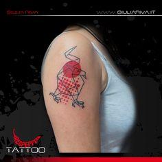 origami dragon tattoo - giulia riva art