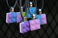 10 NECKLACES LEGO® Friends Birthday Party by BricksWithFriends
