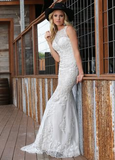 Rustic inspired wedding dress from DaVinci Bridal. http://www.davincibridal.com/collection_inner.php?cat=22&i=15