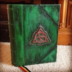Charmed Book of Shadows Replica cover. How to make the cover | Kimbarl