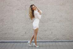 Panna Joanna White Heels, Dresses, Fashion, Gowns, Moda, La Mode, Dress, Fasion, Day Dresses