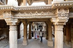Popular on 500px : Adalaj Step well : Outside view by AnatolyBerman