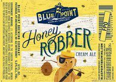 mybeerbuzz.com - Bringing Good Beers & Good People Together...: Blue Point - Honey Robber Cream Ale