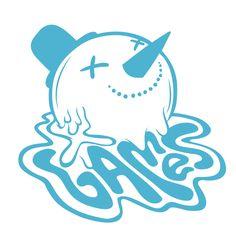 X Games 2011 by Jordan Metcalf, via Behance Pattern Illustration, Graphic Design Illustration, Fantasy Logo, Game Logo Design, Decoration Plante, X Games, Keys Art, Personal Logo, Typography