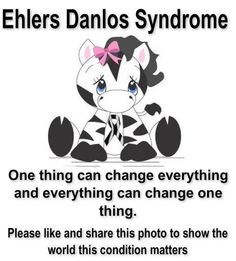 Ehlers Danlos Syndrome #eds #pots #chronicillness #awareness