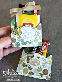 Stampinantics: Search results for coffee holder Tea Gifts, Coffee Gifts, Coffee Or Tea, Coffee Break, Coffee Cards, Appreciation Gifts, Paper Gifts, Paper Toys, Creative Gifts