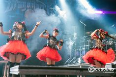 8 Photos Of Babymetal's Surprise Appearance At Download Festival - Photos - Rock Sound Magazine