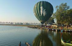 Hot Air Balloon, Amarapura, Mandalay