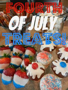 3Mommies: Fourth Of July Treats!