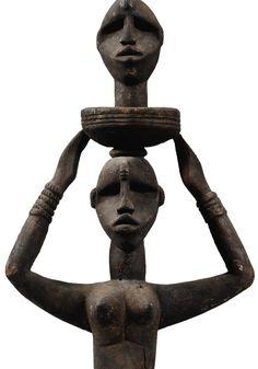 ÌMỌ̀ DÁRA Paris Images, African Countries, Ocean Art, Ivory Coast, African Art, Headdress, Art Gallery, Vans, Statue