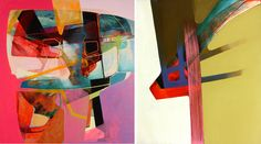 I'm into color paintings right now, can't help. These are by Nick Lamia www.nicklamia.com