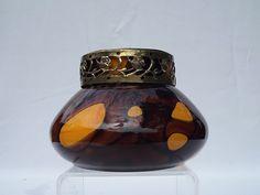 Kralik glass rose bowl