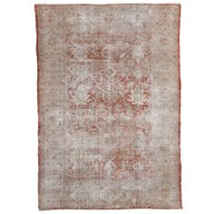 Antique Persian Sultanabad | From a unique collection of antique and modern persian rugs at http://www.1stdibs.com/furniture/rugs-carpets/persian-rugs/