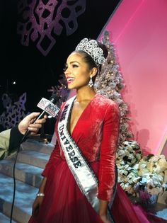 Miss Universe is Miss USA!!