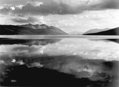 Ansel Adams - McDonald Lake, Glacier National Park