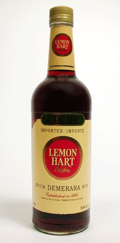 Lemon Hart 151 Demerara Rum, the best!