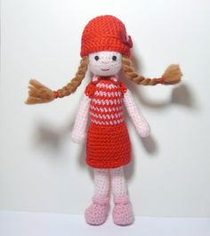 Amigurumi crochet doll Margaret by Marcianilla on Etsy