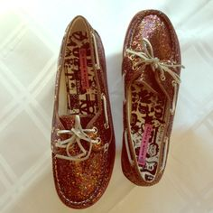 Woo goo! Super cute & unique NWOT sequin flats Multicolored sequin flat loafers with leather ties. Never worn Rock & Candy Shoes Flats & Loafers