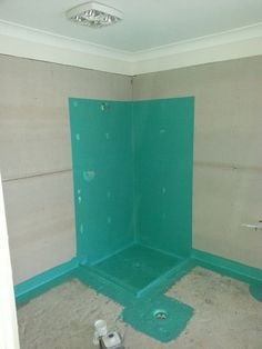 This is the correct way of water proofing a shower on a slab floor. Brisbane, Filing Cabinet, Bliss, Flooring, Shower, Bathroom, Storage, Water, Furniture