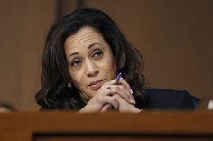 """""""Senator Kamala of the House Harris, First of Her Name, the Unburnt, Queen of the Congresional Hearings"""""""