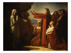 Leon Bonnat, La resurrección de Lázaro (Nuevo Testamento)