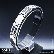 Men's stainless steel bracelet CYCLONE II M-117