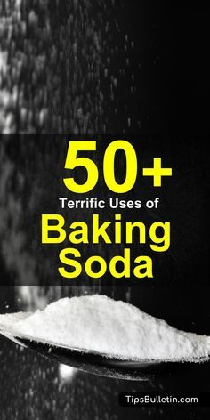 Baking soda is a miraculous product that can be used to clean, bake, and improve your health. Here are more than 50 amazing baking soda uses that you should try today.