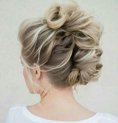 Sloppy french twist