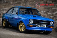 Ford Escort Mk 2 with Billington engine, sequential gearbox, all the go-fast gear and heaps of carbon. Ford Rs, Car Ford, Ford Escort, Escort Mk1, Ford Motorsport, Pretty Cars, Ford Classic Cars, Old Fords, Classic Motors