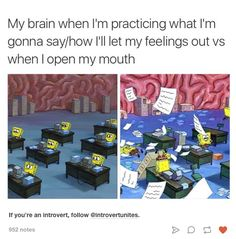 f697543240a747 That s not called being an introvert, it s called having social anxiety.  Memes About Memes