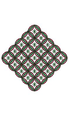 Popular Embroidery Patch Design 15548