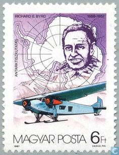 Postage Stamps - Hungary [HUN] - Richard Byrd