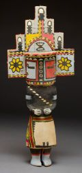 Hopi cottonwood Kachina Doll c 1930 Native American Dolls, Native American Wisdom, American Indians, Canadian Culture, Indian Crafts, Southwest Art, American Indian Art, Loom Beading, Sculpture Art