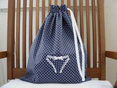Lingerie bag Lingerie travel bag clothes bag honeymoon by AniaSews